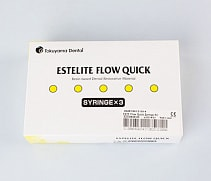 Набор Estelite Flow Quick 3 Syringe kit, 3 шприца 3,6 г (Токуяма, Япония)